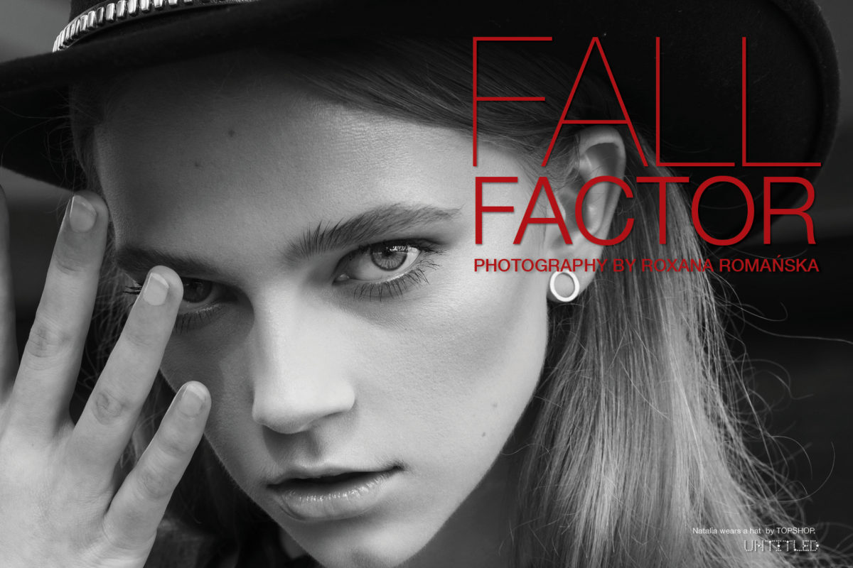 Fall Factor - Photography by Roxana Romanska for The Untiled Magazine